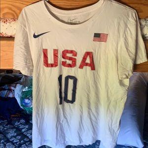 Nike Mens Kyrie Irving Team USA T-shirt Jersey